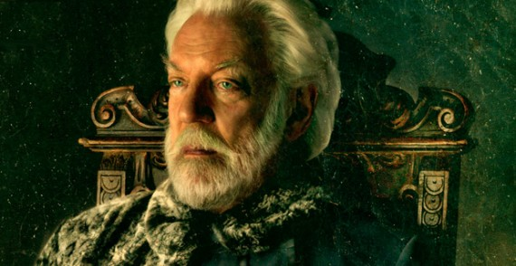 'Catching Fire' Interview: Donald Sutherland on President ...