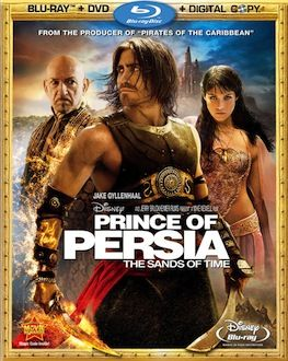 Prince of Persia DVD Blu ray box art DVD/Blu ray Breakdown: September 14th, 2010