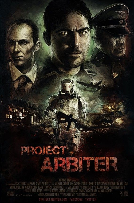 Project Arbiter Poster short film