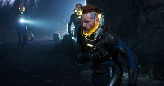 Prometheus Alternate Creature Design Photos Prometheus Concept Art Reveals Alternate Creature Design