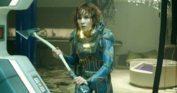 Prometheus Noomi Rapace Ridley Scott Refused Prometheus Directors Cut; Original Script Details Revealed