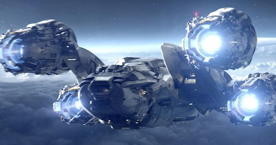 Prometheus Ship1 Ridley Scott Talks Prometheus Story & Sequel Plans