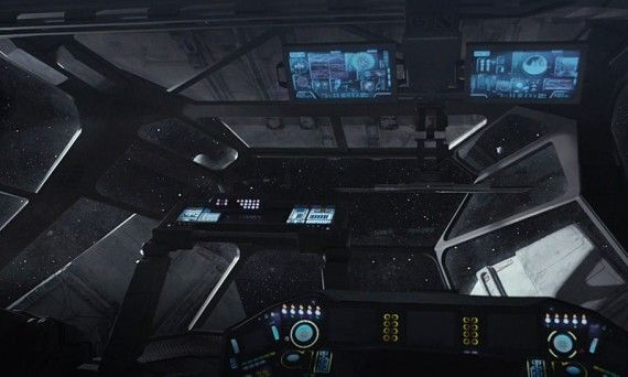 Prometheus Spaceship Cockpit 570x342 Prometheus Spaceship Cockpit