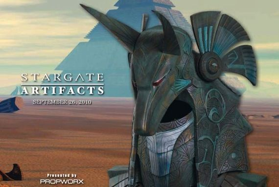 Propworx Stargate Auction MGM/Propworx Official Stargate Prop and Costume Auction