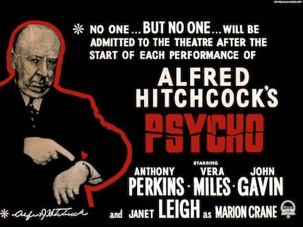 Psycho theater poster 10 Movies That Need a Blu ray Release