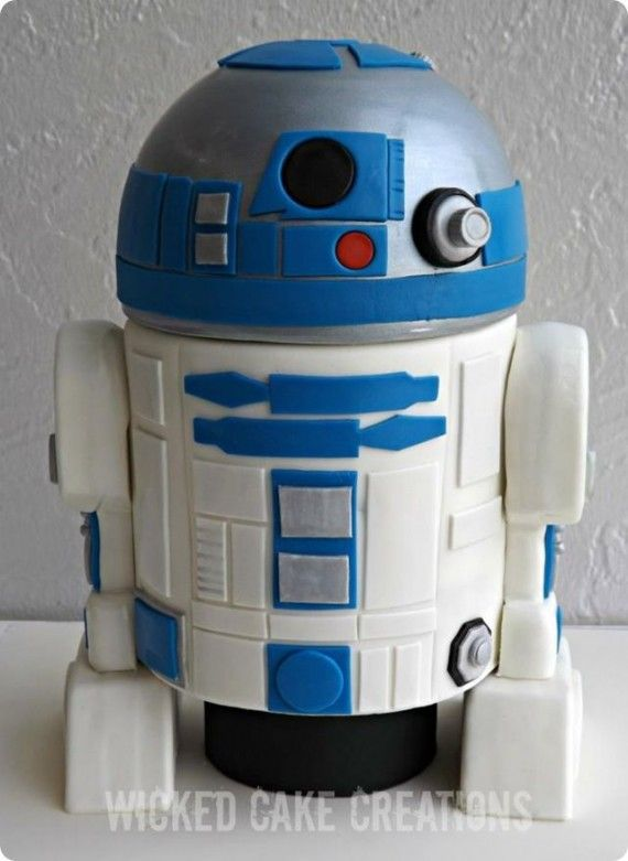 R2 D2 Cake 570x781 SR Geek Picks: 66 Behind the Scenes Photos from The Empire Strikes Back