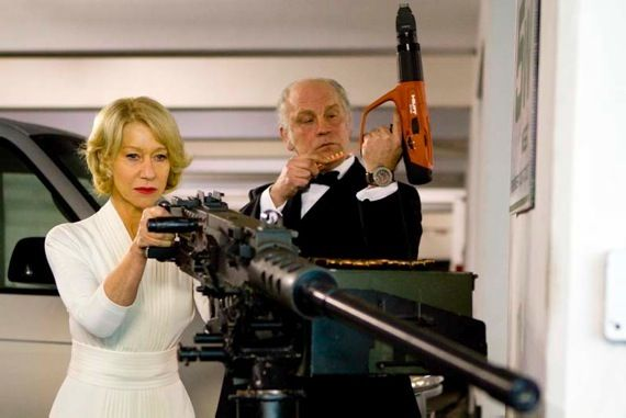 RED movie with Helen Mirren RED Sequel In The Works