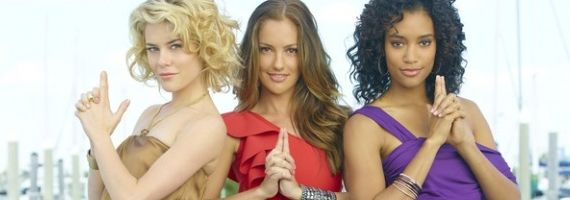 Rachael Taylor Minka Kelly Annie Ilonzeh ABC Charlies Angels reboot Charlies Angels Fall From Grace   Show Cancelled After 4 Episodes