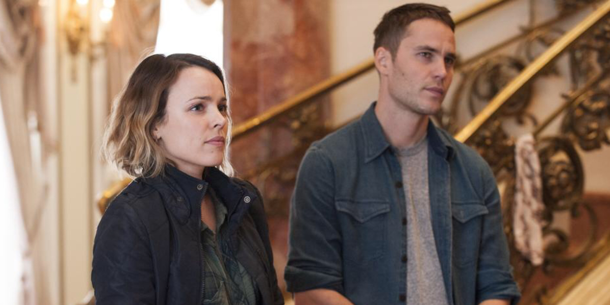 Rachel McAdams and Taylor Kitsch in True Detective Season 2 Episode 3 True Detective: For the Lucky and the Strong
