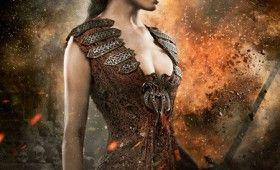 Rachel Nichols as Tamara in Conan the Barbarian 280x170 New Battle Happy Conan the Barbarian Character Posters