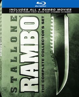 Rambo Collection box art DVD/Blu ray Breakdown: July 27th, 2010