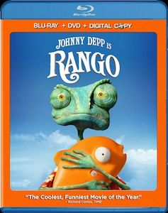 Rango DVD Blu ray DVD/Blu ray Breakdown: July 12, 2011