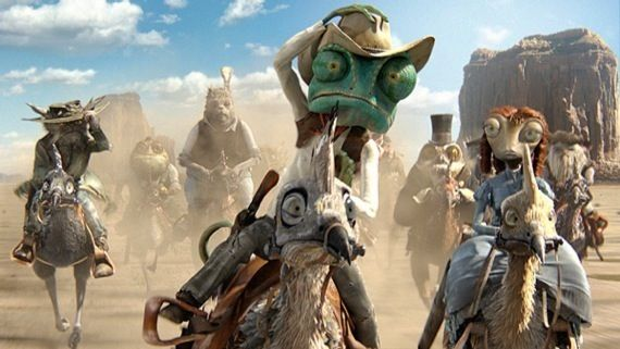 Rango movie clips Rango Clips   Cartoon Antics In The Old West