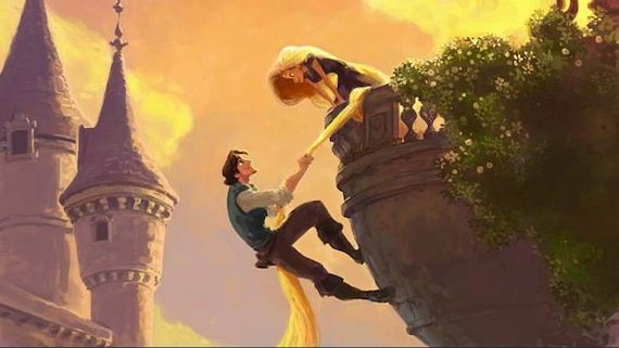 Rapunzel and Flynn Disneys Tangled  Screen Rants 2010 Fall Movie Preview