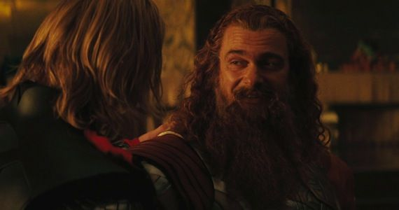 Ray Stevenson Thor The Dark World Captain America 2 & Thor 2 Interviews: Arnim Zolas Return, War In Asgard & More