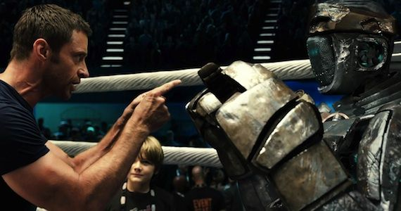 Real Steel Hugh Jackman Atom Review James Cameron Offers Fantastic Voyage Update