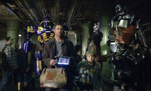 Real Steel Hugh Jackman Dakota Goyo Interview: Author Richard Matheson On Real Steel