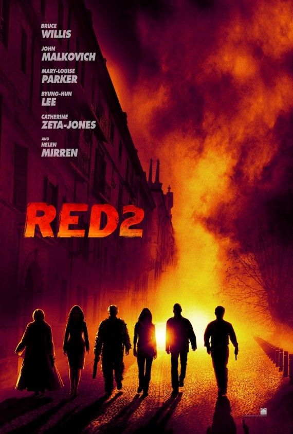 Red 2 Teaser Poster Full 570x844 Red 2 Teaser Poster: Willis, Mirren & Malkovich Head to Europe