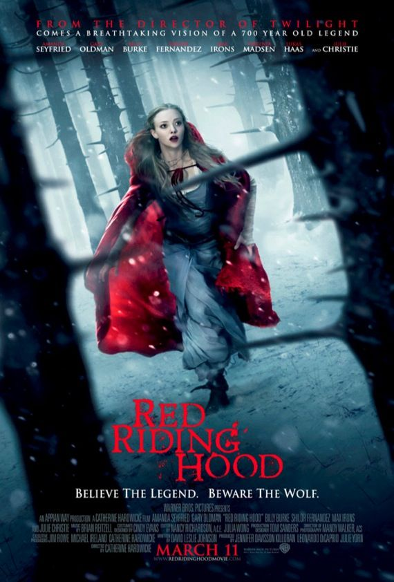 Red Riding Hood movie poster New Red Riding Hood Images & Poster   A Fairytale World Comes to Life [Updated]