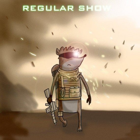 Regular Show Call Of Duty 570x570 SR Geek Picks: Mario Warfare 2, Hawkeye Runs Out of Arrows, Killing Joke Cosplay & More!