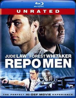 Repo Men box art DVD/Blu ray Breakdown: July 27th, 2010