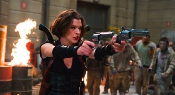 Resident Evil 4 Clips Action Packed Clips From Resident Evil: Afterlife