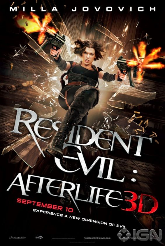 Resident Evil 4 Poster New Resident Evil 4 Poster, First Image From The Tourist