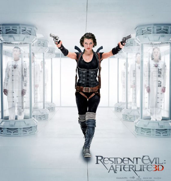 Resident Evil 4 banner1 Alice Poster Friday: Resident Evil 4, Piranha 3D, Saw 3D & More!