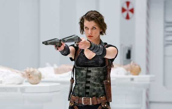 Resident Evil Afterlife Alice Resident Evil: Afterlife Review