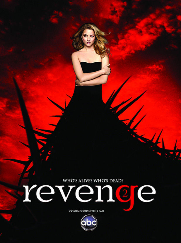 Revenge season 2 poster Revenge Season 2 Casts Jennifer Jason Leigh as Emilys Mom