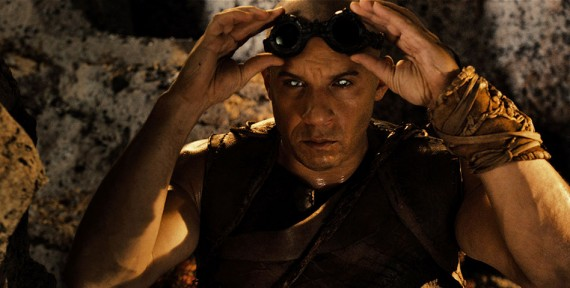 Riddick Movie Official Photo Vin Diesel Goggles 570x288 Riddick Interview: Katee Sackhoff Talks Superhero Movie Roles & Strong Female Characters