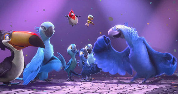 Rio 2 Trailer Rio 2 Trailer Takes Blu & Jewel Into the Rainforest
