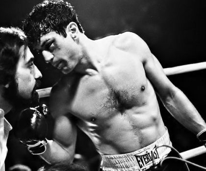 Robert De Niro as Jake LaMotta Raging Bull