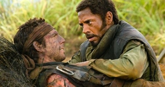 Robert Downey Jr and Ben Stiller in Tropic Thunder Ben Stiller in Talks to Direct Robert Downey Jr. in Pinocchio