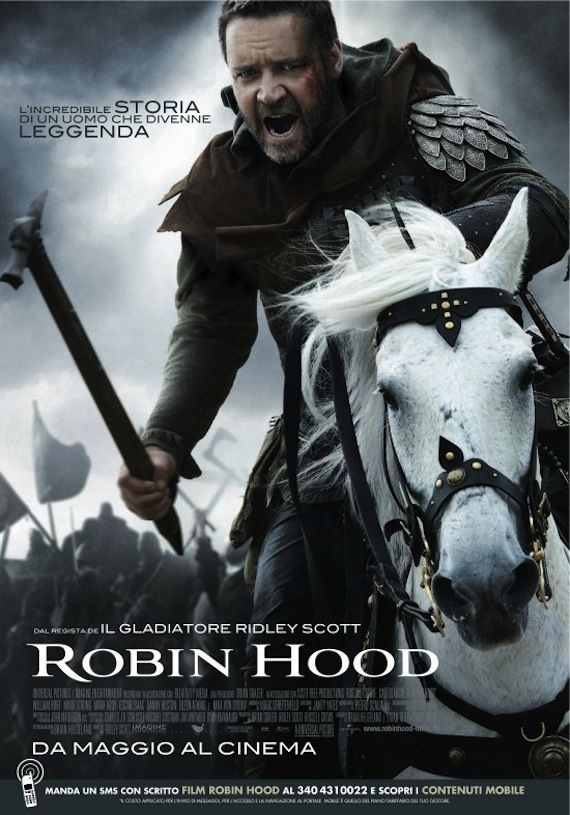 Robin Hood poster Posters: True Blood, Shrek 4, Other Guys, Robin Hood & The Losers