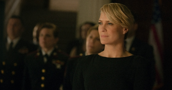 Robin Wright as Claire Underwood in House of Cards Season 2 House of Cards Season 2 Review: What Went Right and What Went Wrong