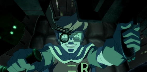 Robin in Batman The Dark Knight Returns Part 2 Batman: The Dark Knight Returns, Part 2 Review