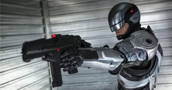 RoboCop 2014 Grey Suit