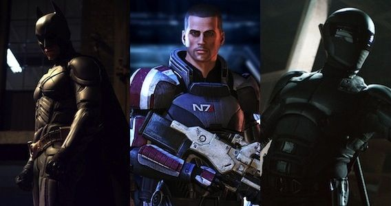 RoboCop Suit Comparison Batman Mass Effect Snake Eyes RoboCop Set Photos Reveal New Armor