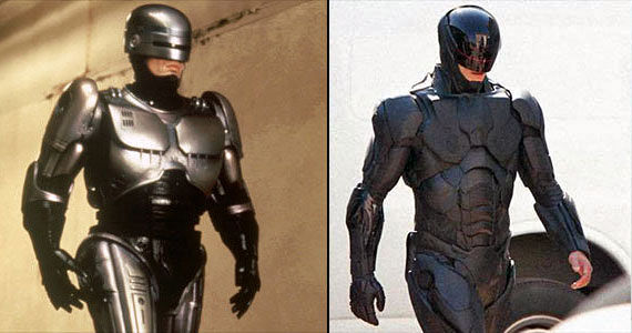 Robocop Old and New Armor RoboCop Set Photos Reveal New Armor