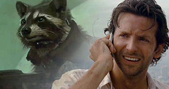 Rocket Raccoon Bradley Cooper Guardians of the Galaxy Bradley Cooper Talks Rocket Raccoon Voice; Avengers 2 Snags Guardians D.P.
