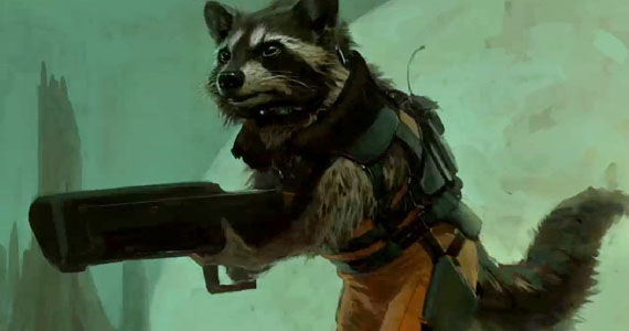 Rocket Raccoon Design Charlie Wen Guardians of the Galaxy Rocket Raccoon is the Heart of Guardians of the Galaxy