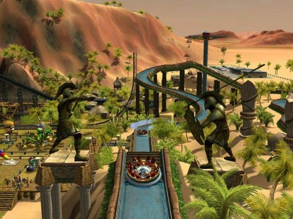 Rollercoaster Tycoon still 570x427 Rollercoaster Tycoon Movie On The Way