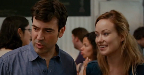 Ron Livingston and Olivia Wilde in Drinking Buddies Drinking Buddies Review