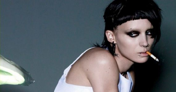 Rooney Mara as Lisbeth Salander1 Girl With the Dragon Tattoo Teaser Trailer: Swedish Noir, Fincher Style
