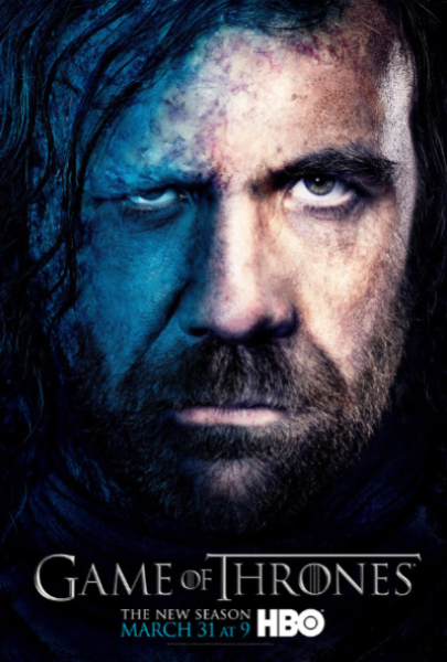Rory McCann in Game of Thrones season 3 Rory McCann in Game of Thrones season 3