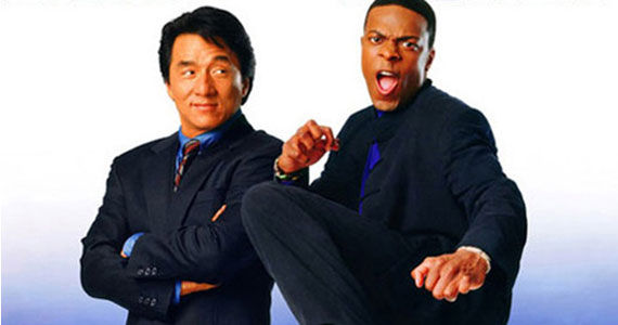 Rush Hour poster New Jackie Chan Movie Titled Skiptrace; Story Details Revealed