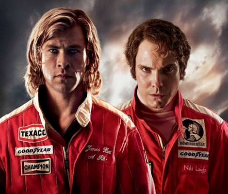 Rush starring Chris Hemsworth, Olivia Wilde and Daniel Bruhl (2013)