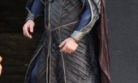 Russell Crowe Jor El Superman Man of Steel 3 280x170 Man of Steel Set Photos Reveal Russell Crowes Jor El Costume