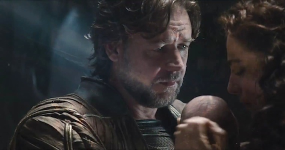 Russell Crowe Talks Man of Steel David S. Goyer: Man of Steel Being Approached As If It Were Real